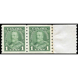canada stamp 228 king george v 1 1935 m vfnh end pair 001