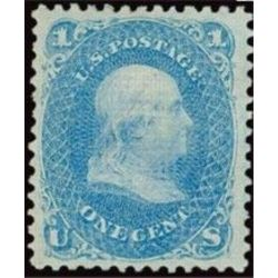 us stamp postage issues 86 franklin 1 1867