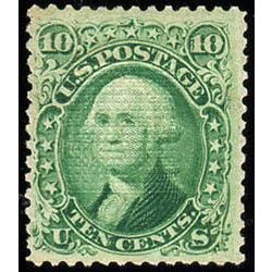 us stamp postage issues 89 washington 10 1867