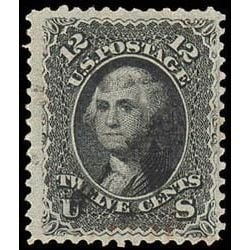 us stamp postage issues 90 washington 12 1867