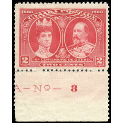 canada stamp 98 king edward vii queen alexandra 2 1908 m fnh 008