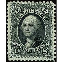 us stamp postage issues 97 washington 12 1867
