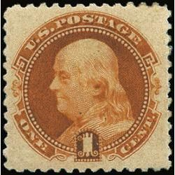 us stamp postage issues 133 franklin 1 1880