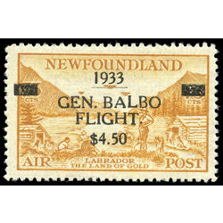 newfoundland stamp c18 labrador land of gold 1933 m vfnh 010