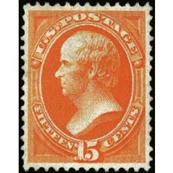 us stamp postage issues 152 webster 15 1870