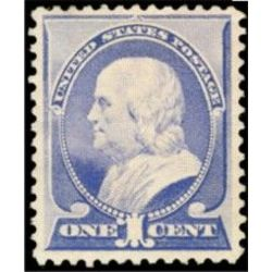 us stamp postage issues 212 franklin ultramarine 1 1887
