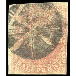 newfoundland stamp 21 1861 third pence issue 6 d 1861 u f 009