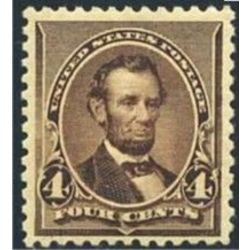 us stamp postage issues 222 lincoln 4 1890