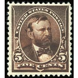 us stamp postage issues 223 grant 5 1890