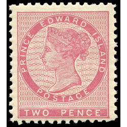 prince edward island stamp 5a queen victoria 2d 1862 m vfnh 003