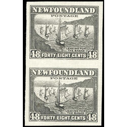 newfoundland stamp 199a fishing fleet 1938