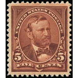 us stamp postage issues 255 grant 5 1894