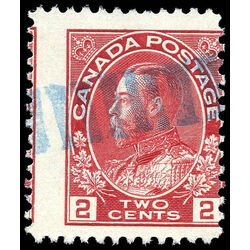canada stamp 106 king george v 2 1911 u vf 003