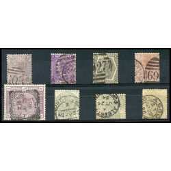 great britain used stamp collection
