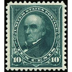 us stamp postage issues 273 webster 10 1895
