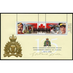canada stamp 1737c rcmp 125th anniversary 1998