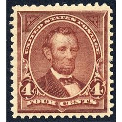 us stamp postage issues 280 lincoln 4 1898