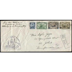 canada first day cover 193 194 and c4