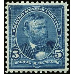 us stamp postage issues 281 grant 5 1898