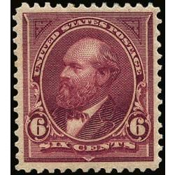 us stamp postage issues 282 garfield 6 1898