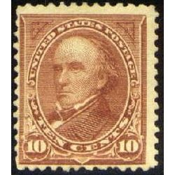 us stamp postage issues 282c webster 10 1898