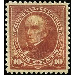 us stamp postage issues 283 webster 10 1898