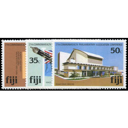 fiji stamp 450 2 27th commonwealth parliamentary association conf suva 1981