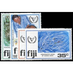 fiji stamp 438 41 intl year of the disabled 1981