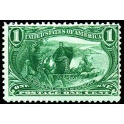 us stamp postage issues 285 marquette on the mississippi 1 1898