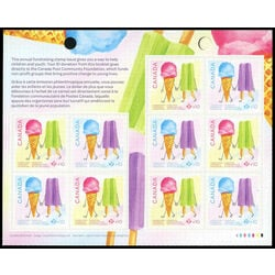 canada stamp complete booklets bk bk730 canada post community foundation 2019