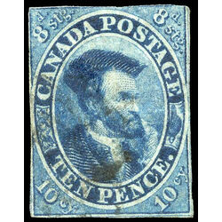 canada stamp 7 jacques cartier 10d 1855 u f 020