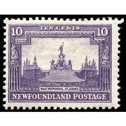 newfoundland stamp 179 war memorial 10 1931