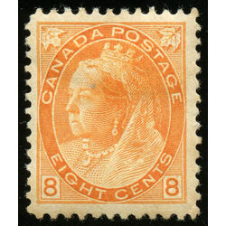 canada stamp 82 queen victoria 8 1898 m vf 021