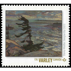 canada stamp 3243g stormy weather georgian bay f h varley 2020