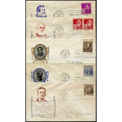 10 early united states first day covers