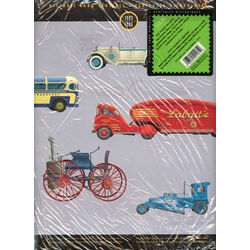 historic land vehicles folder with 5 sheets