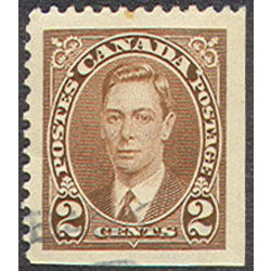 canada stamp 232as king george vi 2 1937