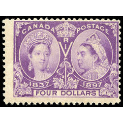 canada stamp 64 queen victoria jubilee 4 1897 m f 029