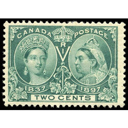 canada stamp 52 queen victoria jubilee 2 1897 m vf 004