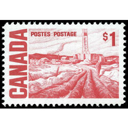 canada stamp 465biv edmonton oil field by h g glyde 1 1971