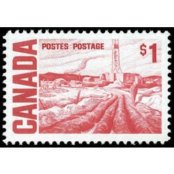 canada stamp 465bi edmonton oil field by h g glyde 1 1967