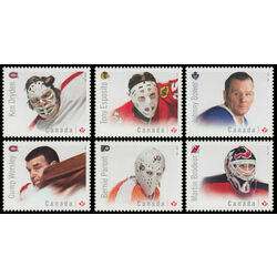 canada stamp 2866a f great canadian goalies 2015