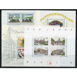 germany berlin mint nh collection