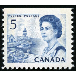 canada stamp 458bps queen elizabeth ii fishing village 5 1967