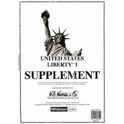 annual supplement for the harris liberty usa stamp album