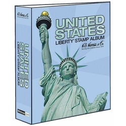 binder for united states harris liberty stamp album