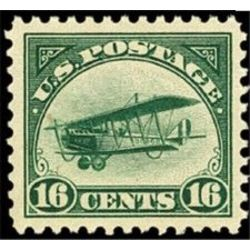 us stamp c air mail c2 curtiss jenny 16 1918