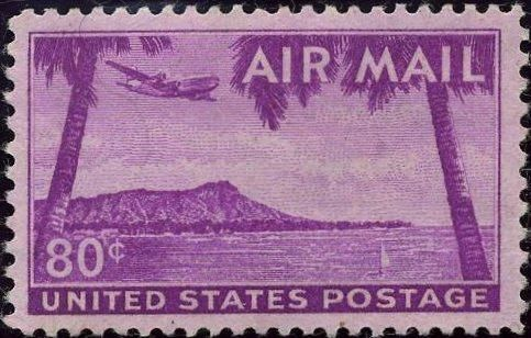 US Stamp Air Mail C46
