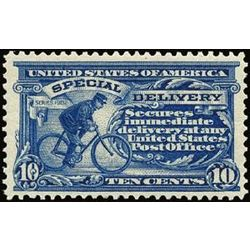 us stamp e special delivery e6 cycling messenger 10 1902