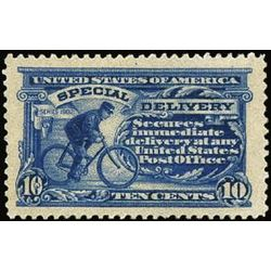 us stamp e special delivery e8 cycling messenger 10 1911